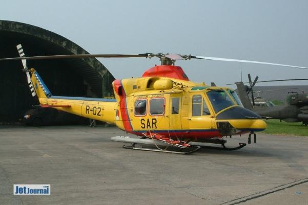R-02 AB412SP, 303sqn, RNLAF