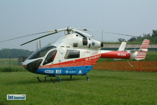 OO-EMS MD900, Belgian Air Ambulance