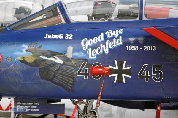 Panavia Tornado, 46+45, Sonderbemalung Good Bye Lechfeld