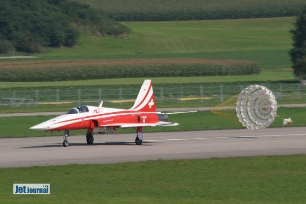 F-5E bei der Landung