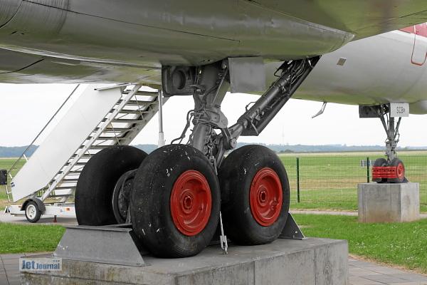 Tu 134 Fahrwerk
