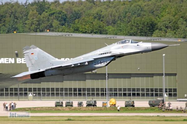 Abschied von den MiG-29 (3) - Abflug der letzten Fulcrums
